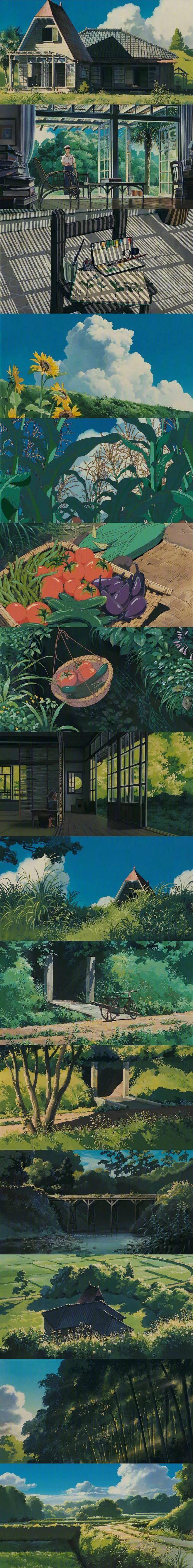 宫崎骏的动画世界 壁纸特辑,人间真有这些地方就好了!_图片 No.5