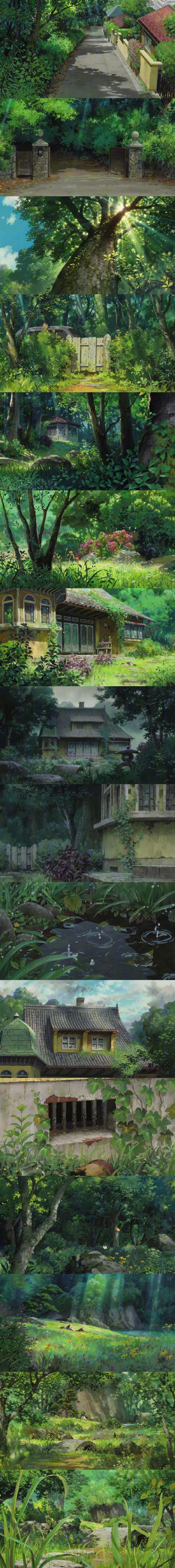 宫崎骏的动画世界 壁纸特辑,人间真有这些地方就好了!_图片 No.8