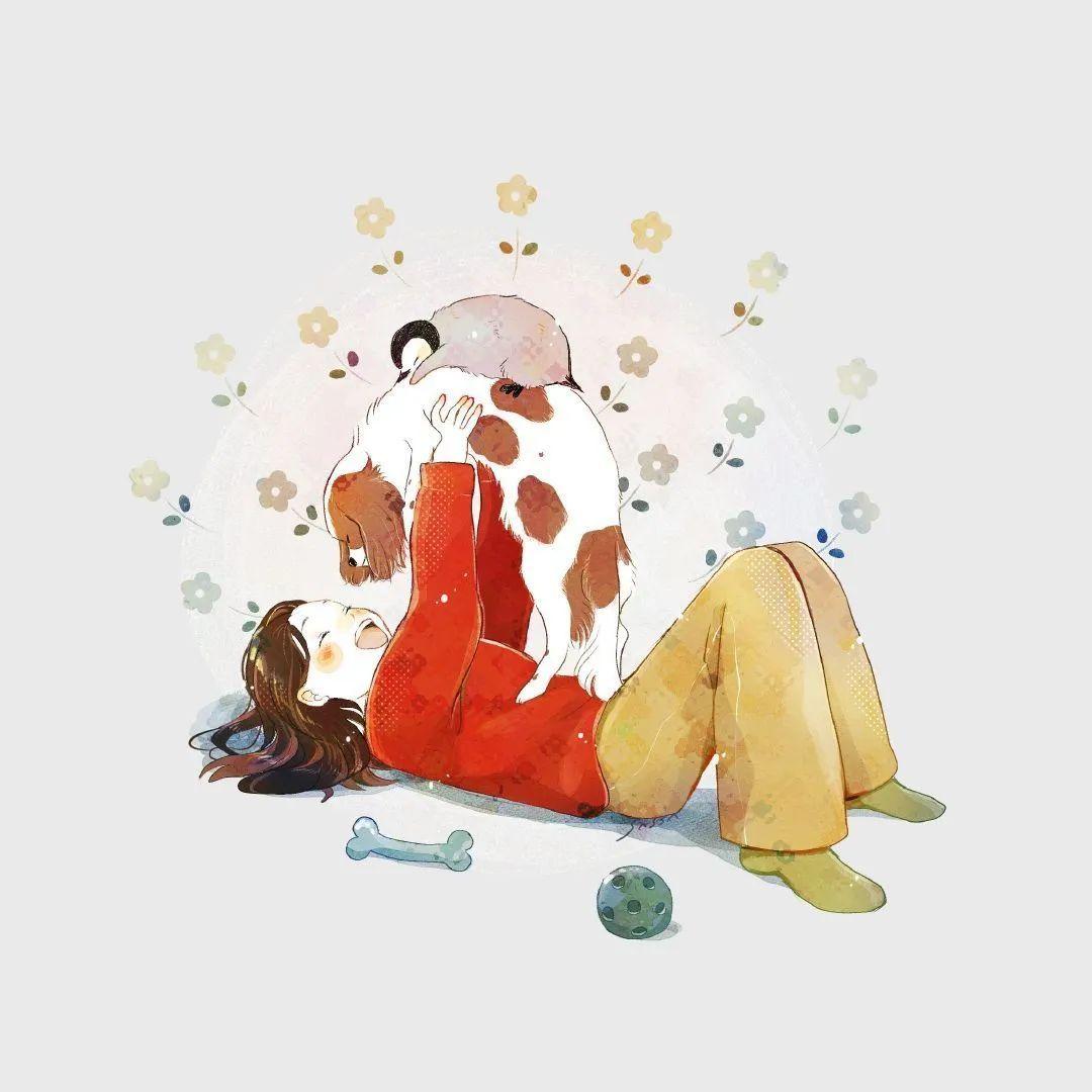 4月19日,P站二次元美图!画师Ins acatcie作品,粉色少女可可爱爱_图片 No.19