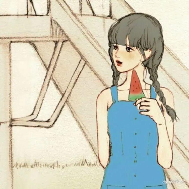 超热门的动漫情侣头像合集,恋爱的味道_图片 No.16