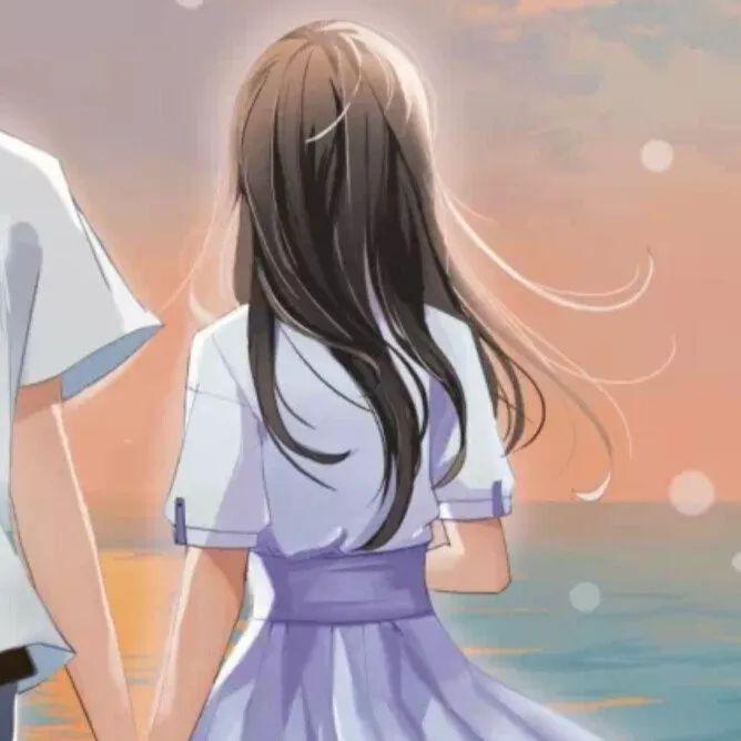 超热门的动漫情侣头像合集,恋爱的味道_图片 No.34
