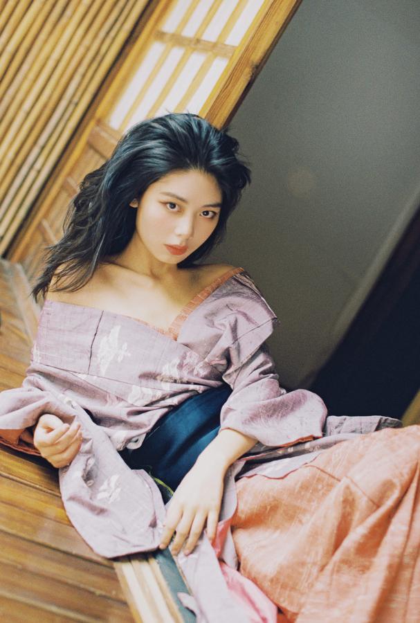 妹子摄影   穿着和服香肩露的仕女 - [leimu486.com] No.3