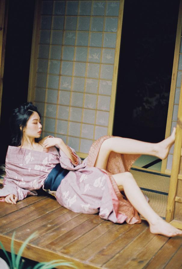 妹子摄影   穿着和服香肩露的仕女 - [leimu486.com] No.6