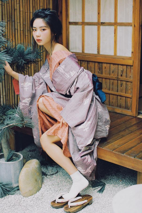 妹子摄影   穿着和服香肩露的仕女 - [leimu486.com] No.7