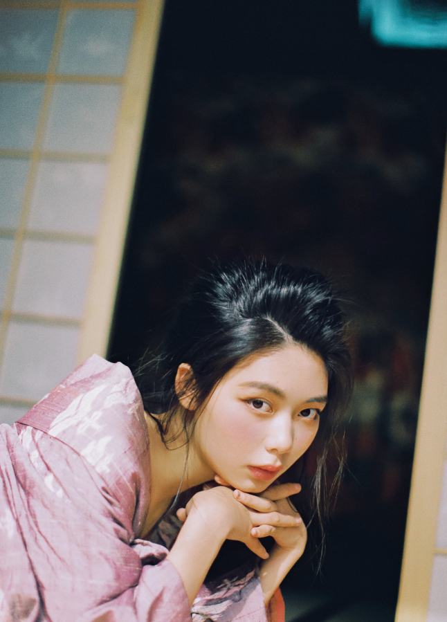 妹子摄影   穿着和服香肩露的仕女 - [leimu486.com] No.10