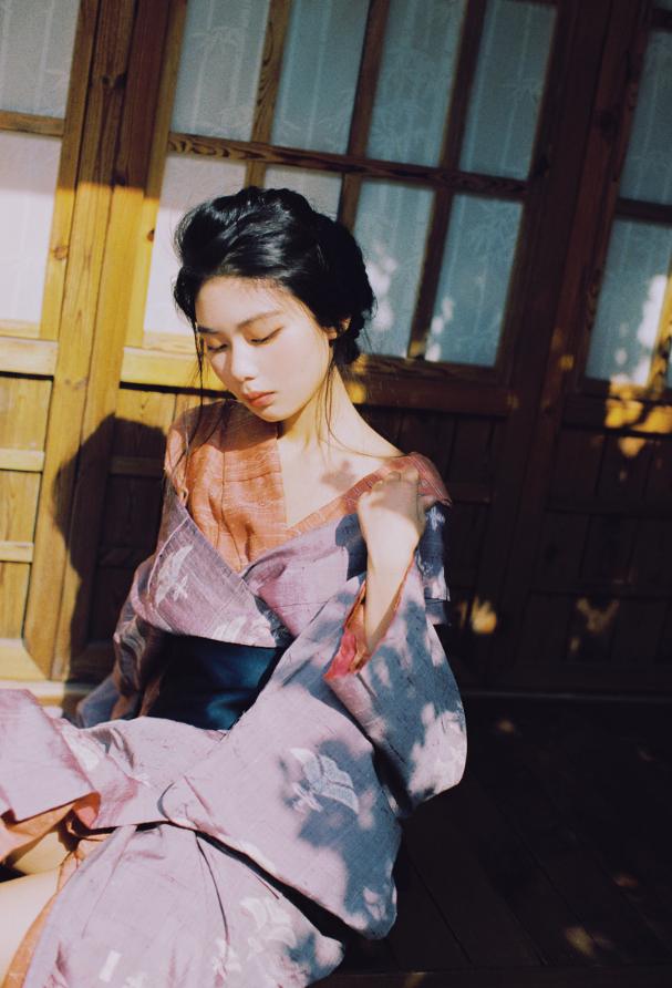 妹子摄影   穿着和服香肩露的仕女 - [leimu486.com] No.11