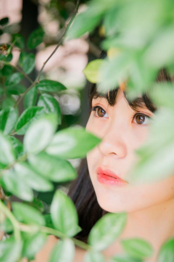 妹子摄影 –花儿与长裙少女_图片 No.9