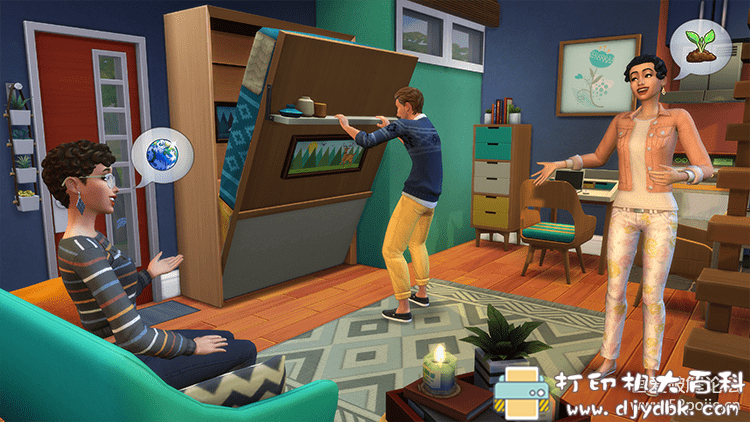 PC游戏分享 模拟人生4:温馨小居PC数字豪华版图片 No.2