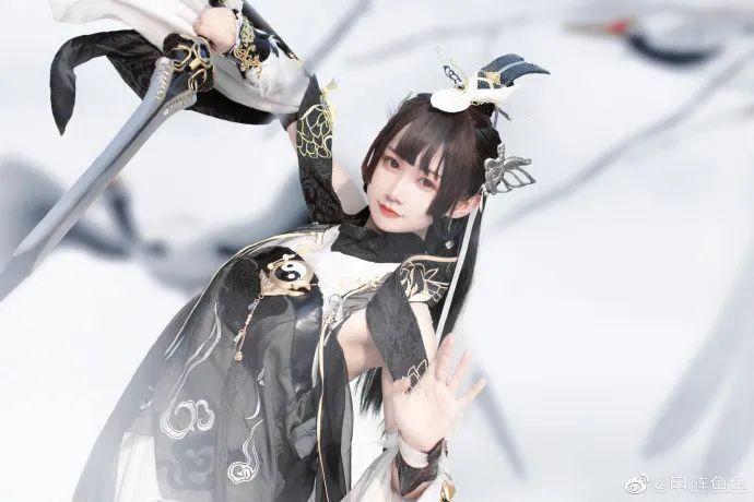 cosplay – 剑网三纯阳雪 咩萝 #燕云纯阳_图片 No.2