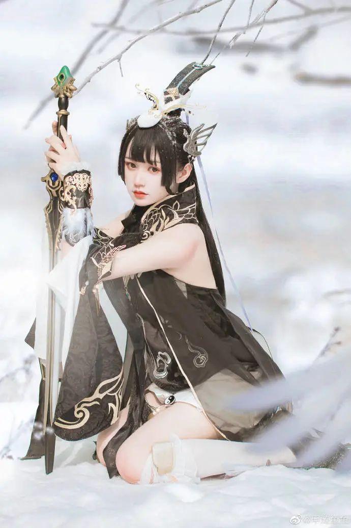 cosplay – 剑网三纯阳雪 咩萝 #燕云纯阳_图片 No.4