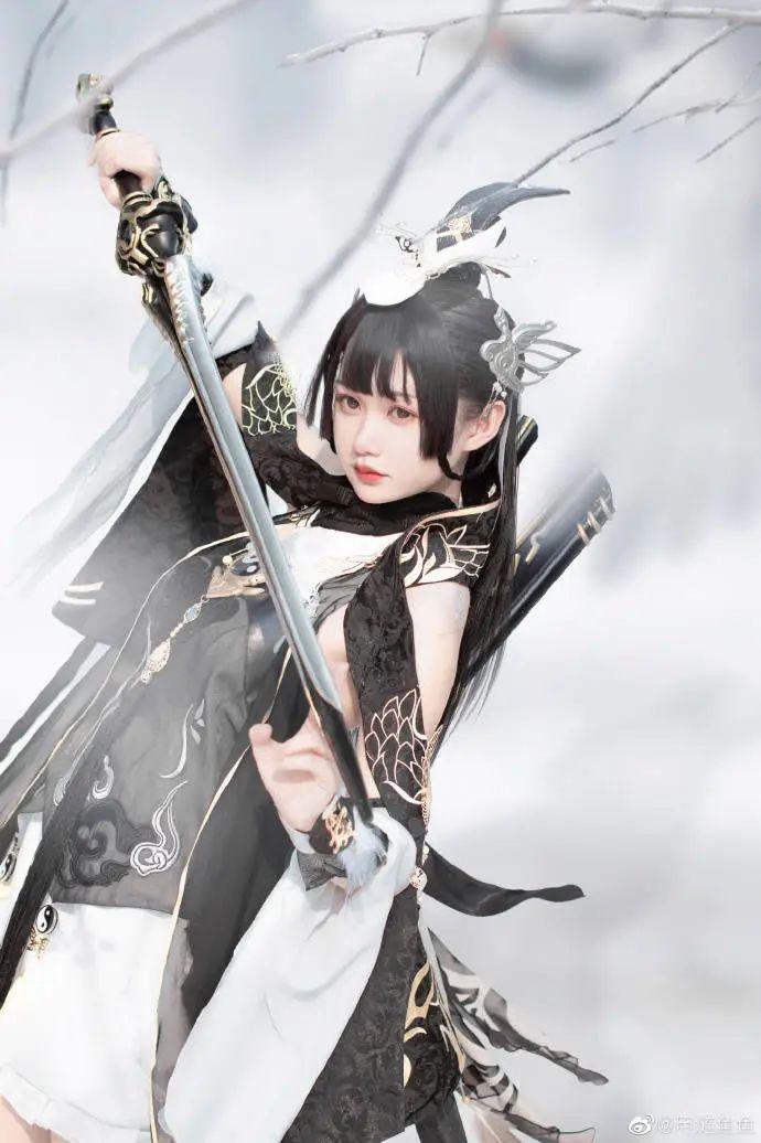cosplay – 剑网三纯阳雪 咩萝 #燕云纯阳_图片 No.6