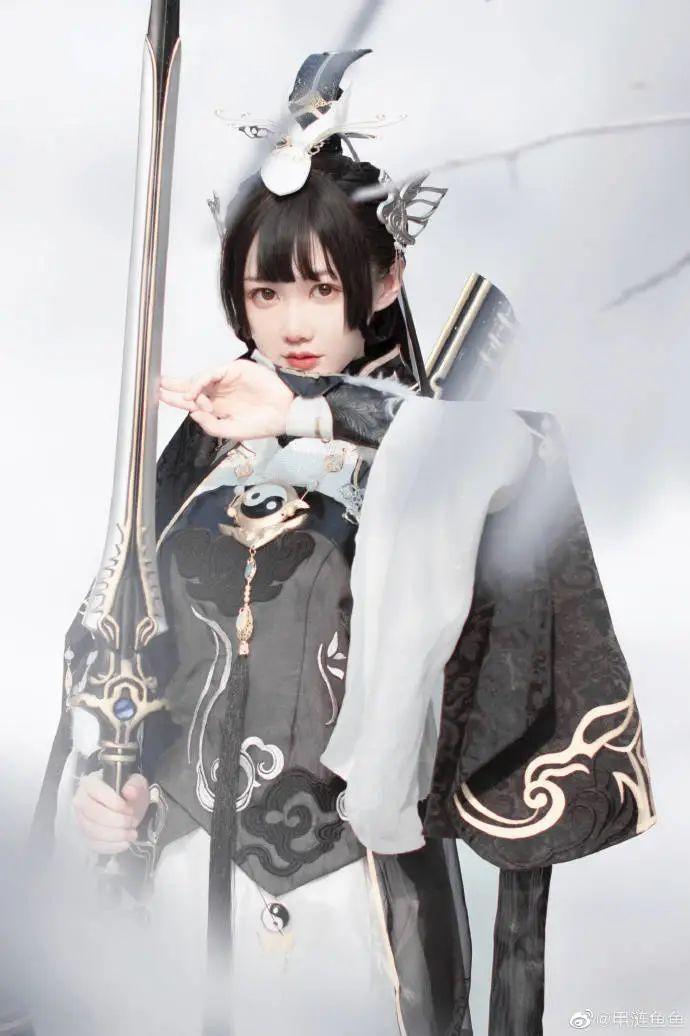 cosplay – 剑网三纯阳雪 咩萝 #燕云纯阳_图片 No.7