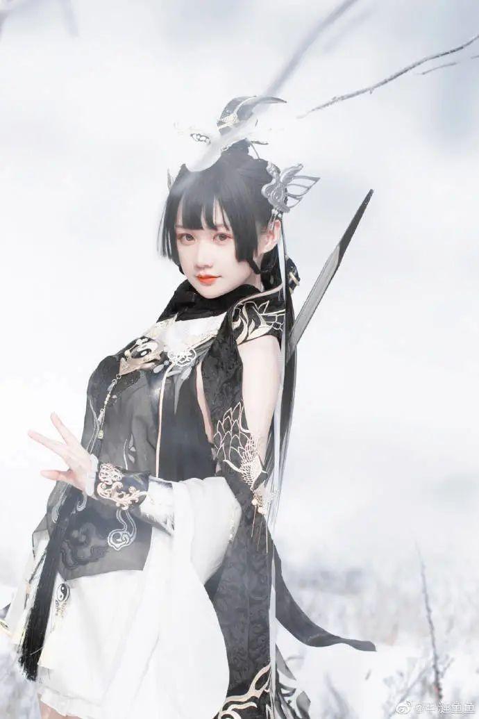 cosplay – 剑网三纯阳雪 咩萝 #燕云纯阳_图片 No.8