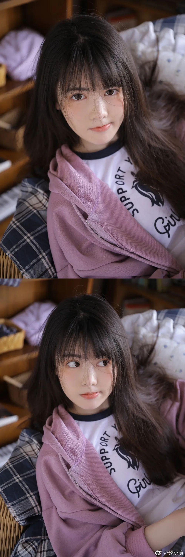 妹子摄影 – 带着娇嗔表情的丝袜美腿少女_图片 No.6