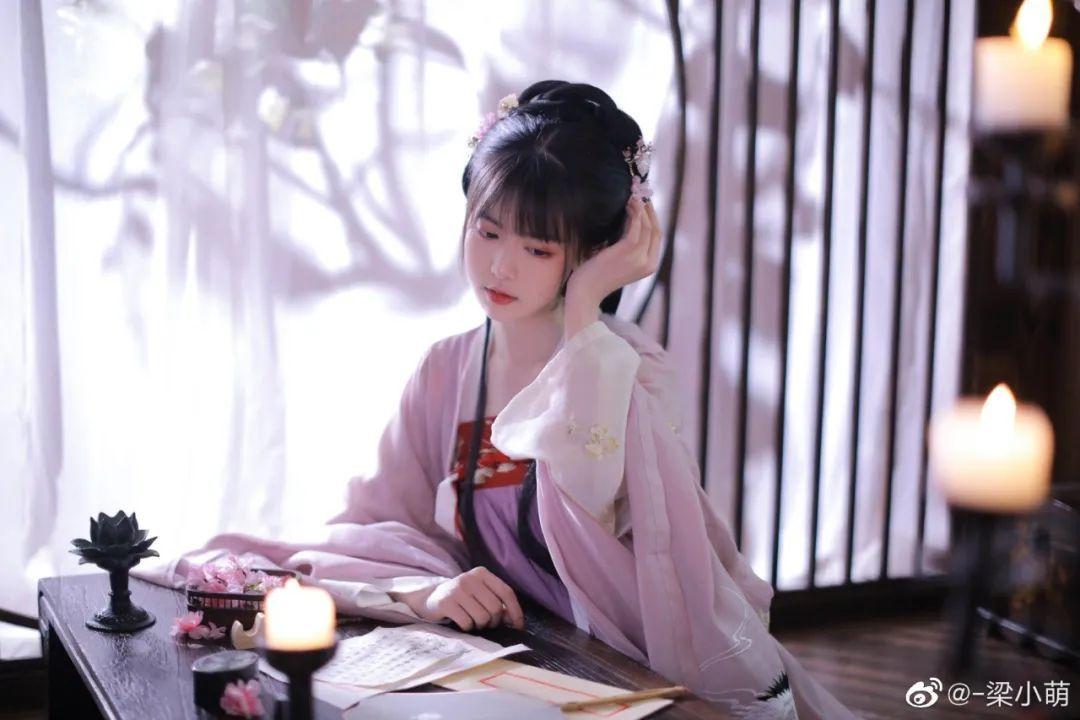 妹子摄影 – 古典汉服少女,美人之美,婉转灵韵~_图片 No.3