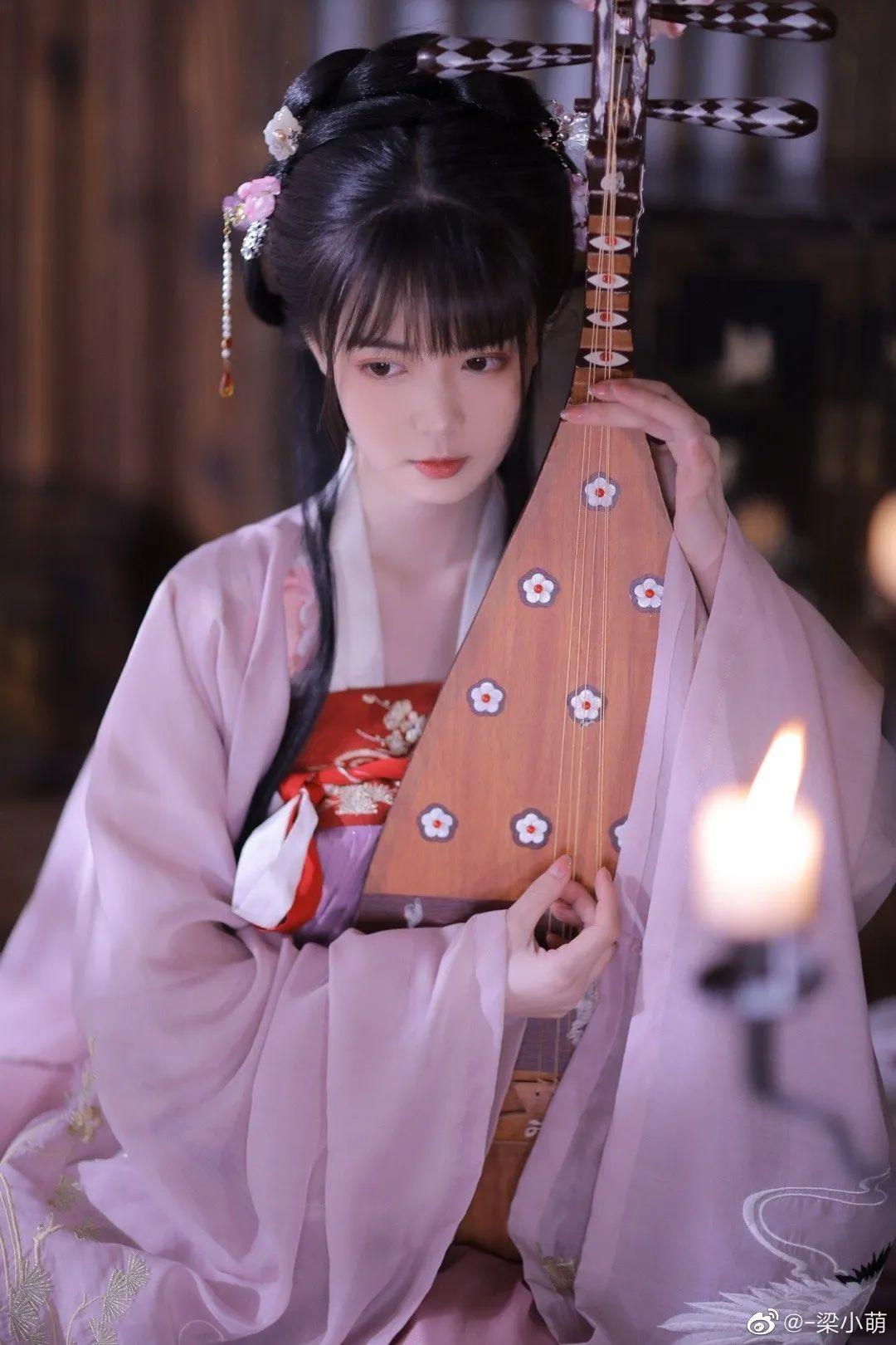 妹子摄影 – 古典汉服少女,美人之美,婉转灵韵~_图片 No.5
