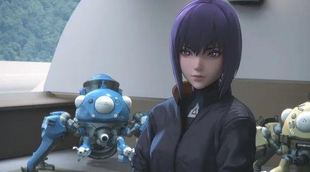 《攻壳机动队:SAC_2045》人气角色排行出炉,素子姐姐只排第二_图片 No.3