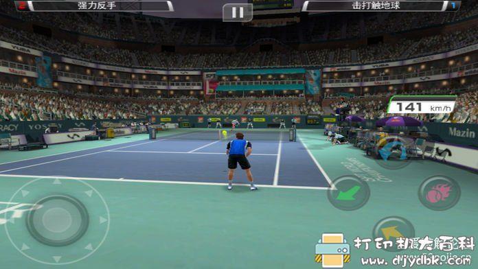 安卓游戏分享 虚拟网球挑战赛中文版无广告图片 No.2
