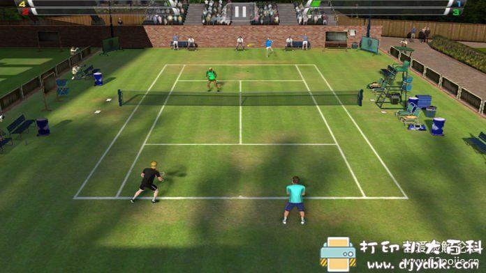 安卓游戏分享 虚拟网球挑战赛中文版无广告图片 No.3