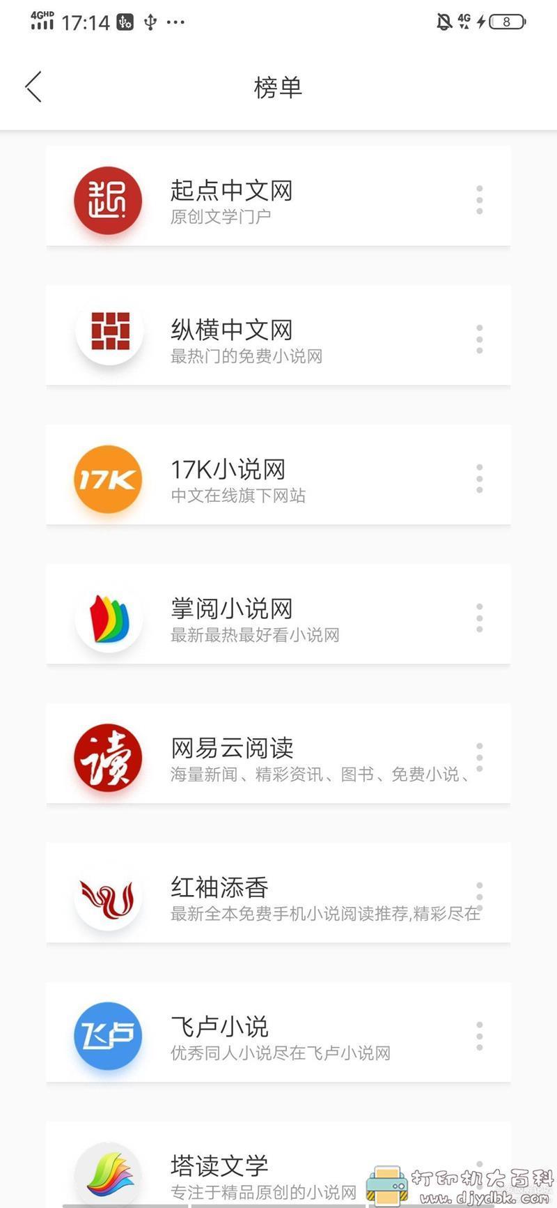 多个书源可切换的小说app:去搜书V1.3.2,无广告 配图 No.3