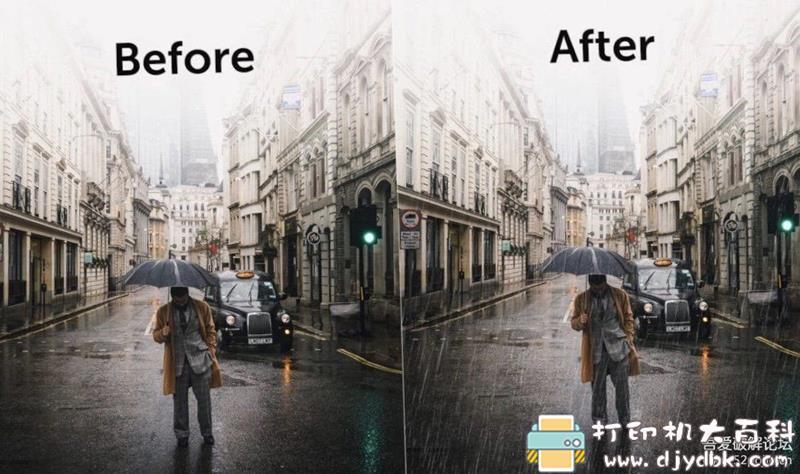 2020全新PS下雨特效插件 RainFX,超炫酷一键模拟降雨! 配图 No.3