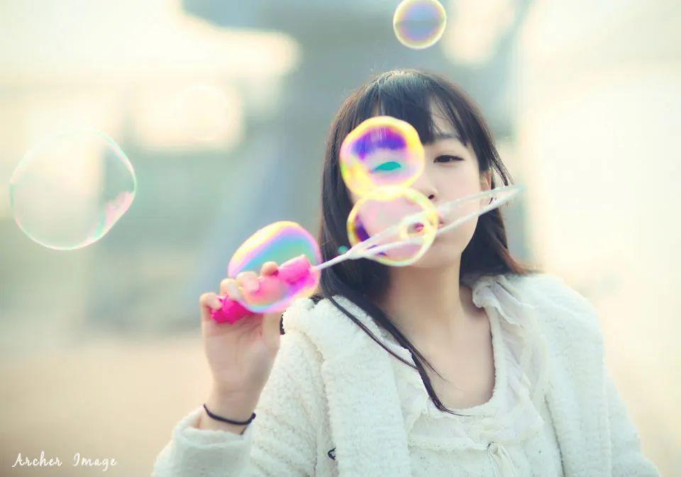 妹子摄影 – 童心未泯的白丝青春少女,嘟嘴太可爱了_图片 No.7