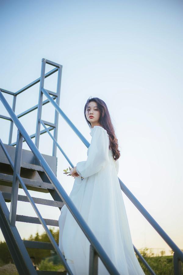 妹子摄影 – 森系纱裙女神_图片 No.5