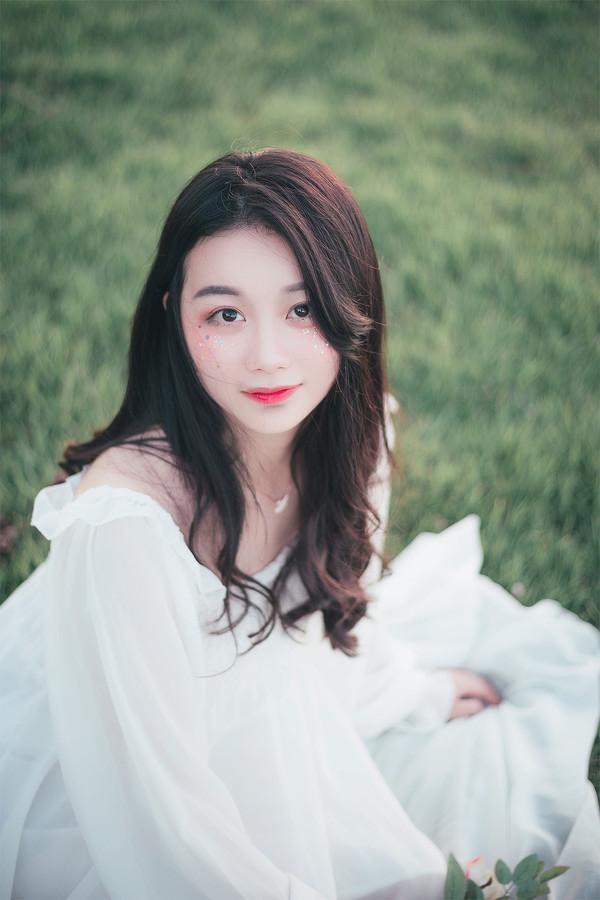 妹子摄影 – 森系纱裙女神_图片 No.8