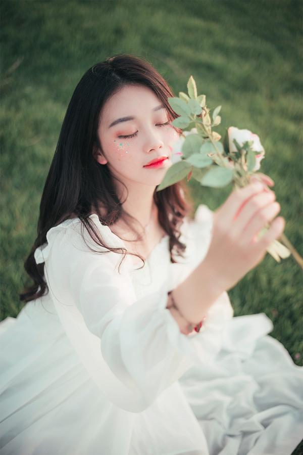 妹子摄影 – 森系纱裙女神_图片 No.10