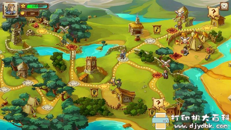 PC策略战棋游戏分享 《勇者大陆1+2+3》三部免安装中文版图片 No.3