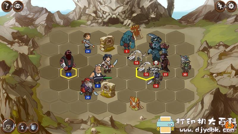PC策略战棋游戏分享 《勇者大陆1+2+3》三部免安装中文版图片 No.8