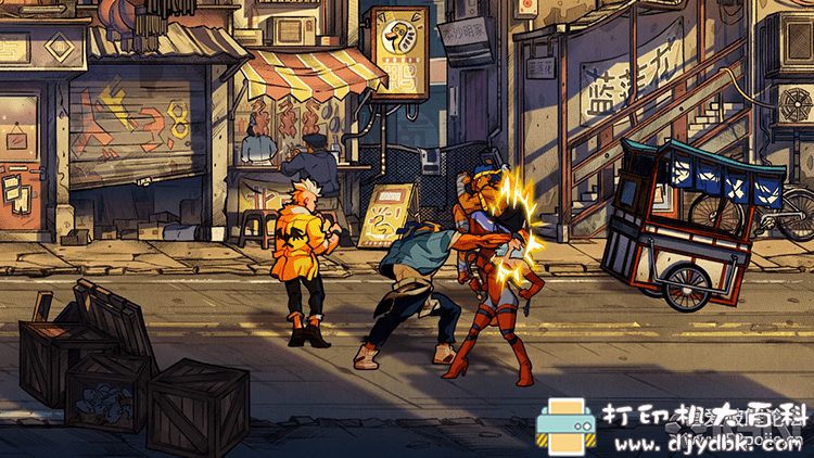 PC游戏分享:[怒之铁拳4|Street of Rage 4|修复版|免安装绿色中文版图片 No.4