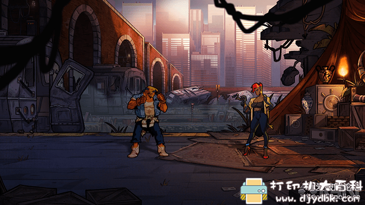 PC游戏分享:[怒之铁拳4|Street of Rage 4|修复版|免安装绿色中文版图片 No.5