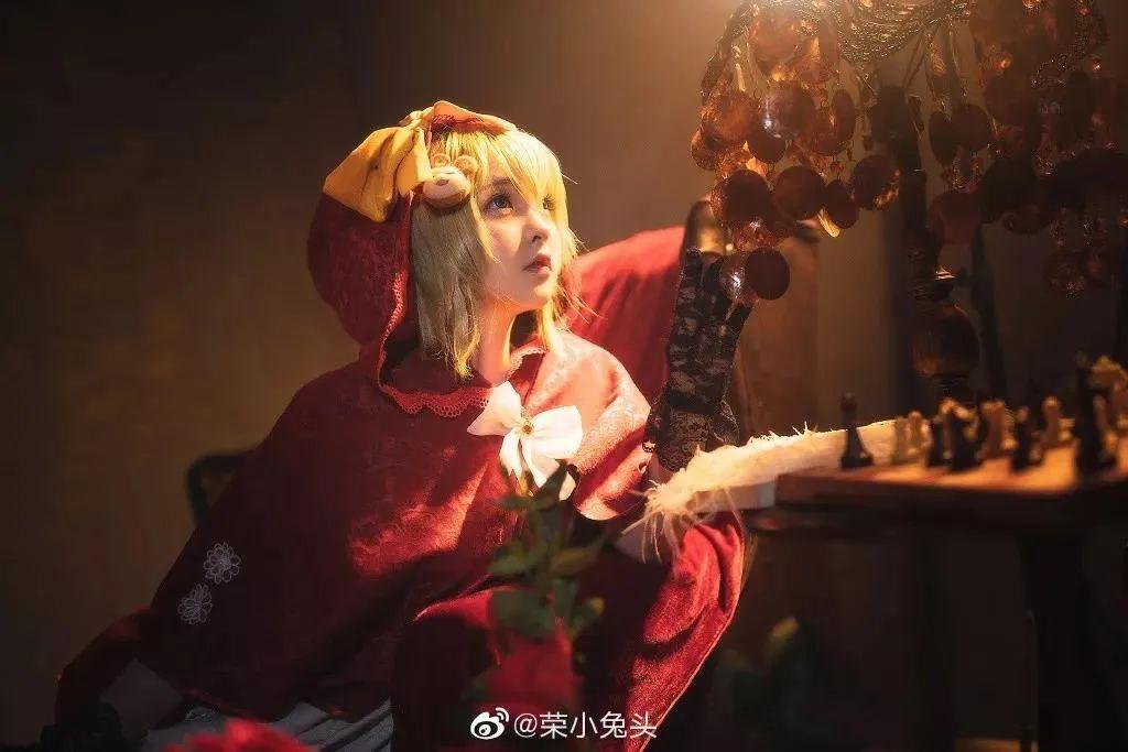 Cosplay—宝石研物语 玛格丽特,太可人的小红帽!_图片 No.1