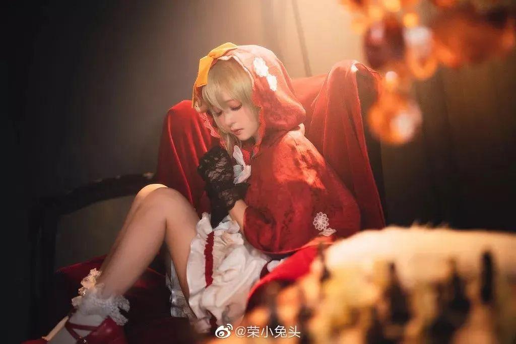 Cosplay—宝石研物语 玛格丽特,太可人的小红帽!_图片 No.3