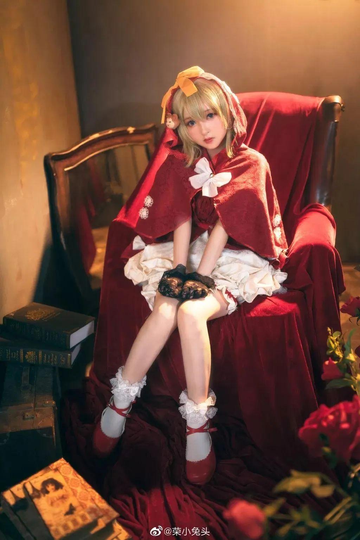 Cosplay—宝石研物语 玛格丽特,太可人的小红帽!_图片 No.8