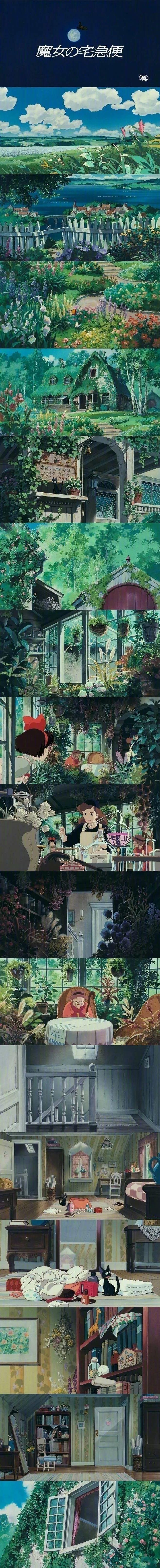 那些年宫崎骏带给我们的美好!动画壁纸特辑_图片 No.5