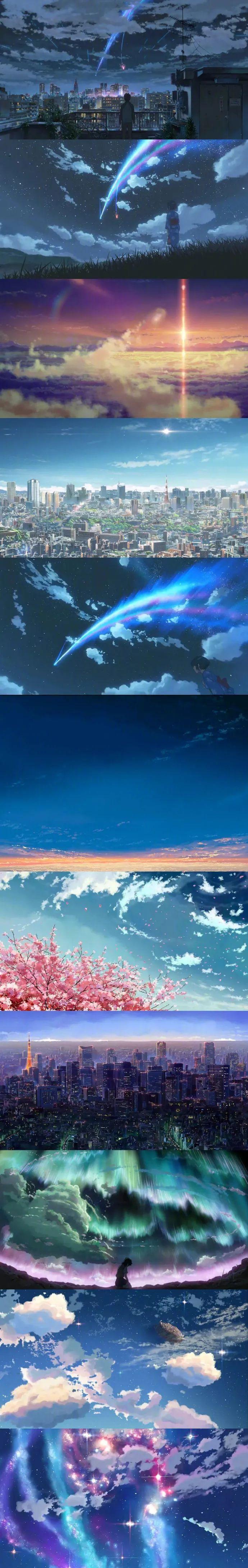 新海诚动画景色壁纸特辑,唯美到窒息!_图片 No.3