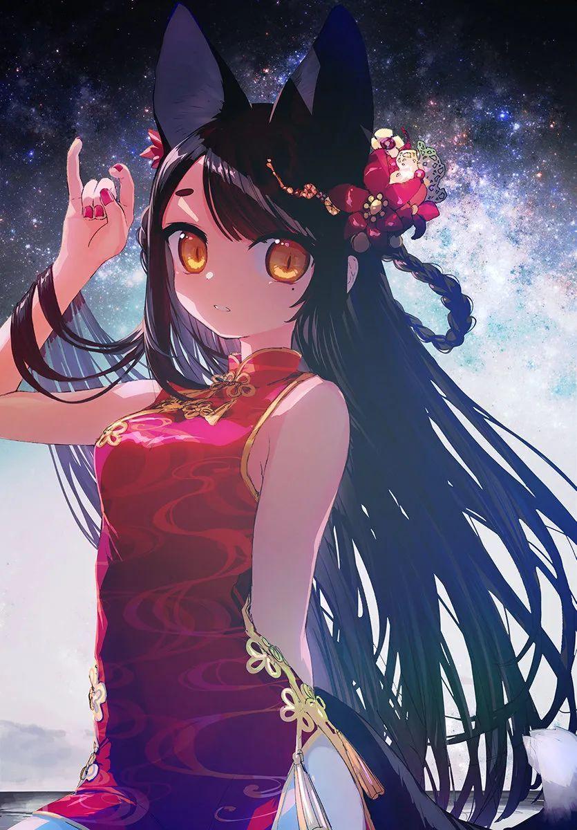 5月6日,二次元美图!透明伞横放挡水花的可人少女_图片 No.18