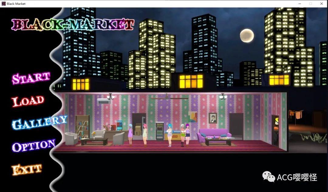 游戏 – 【经营SLG/全动态/全CV】黑暗·交易所 BLACK-MARKET DL正式版【新作/1G】_图片 No.1