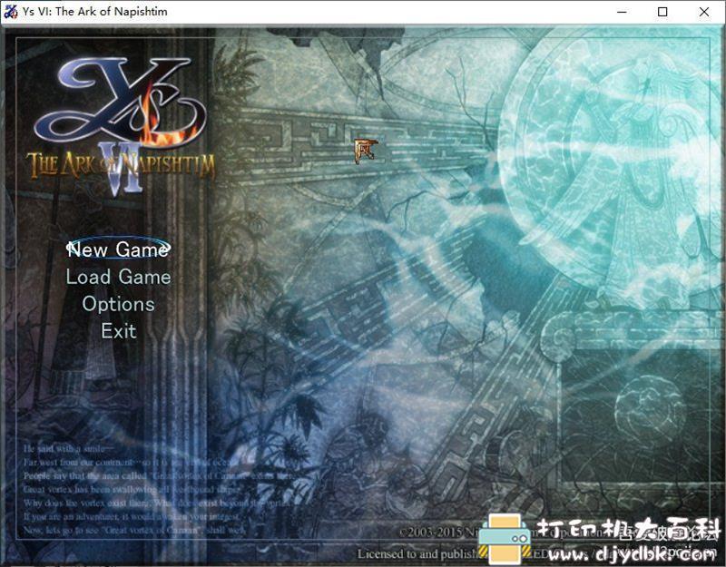 PC游戏分享:【动作冒险】《伊苏6:纳比斯汀的方舟》v2.0.1.2免安装中文版[重制版]图片 No.2