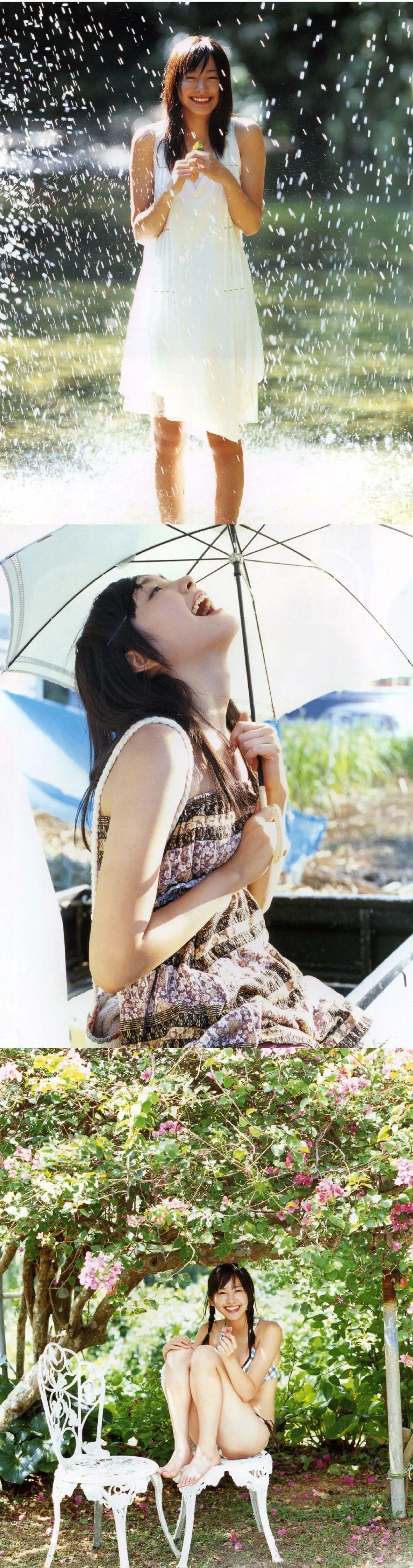 新垣结衣泳装写真集,《水漾青春17岁》_图片 No.8