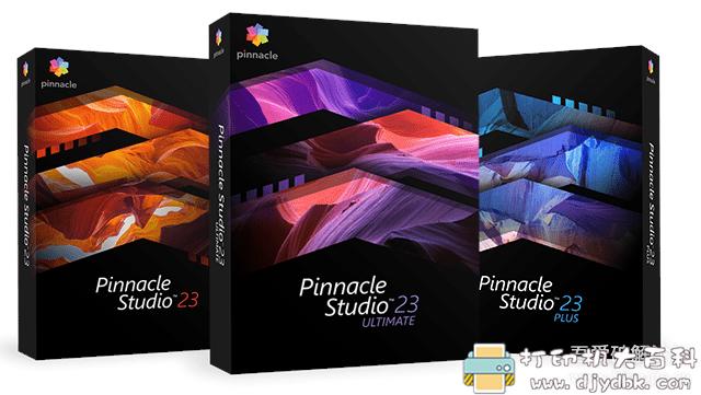 [Windows]专业视频编辑软件 品尼高 Pinnacle Studio Ultimate v23.2.0.290 汉化版图片 No.1