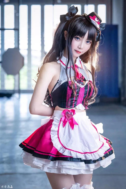 Cosplay—FGO 远坂凛(@大肉丸Amiee),这小裙子太好看了_图片 No.1