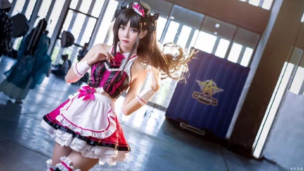 Cosplay—FGO 远坂凛(@大肉丸Amiee),这小裙子太好看了_图片 No.9