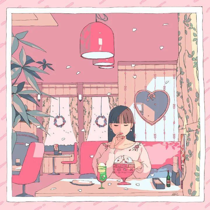 P站美图推荐——喝饮料的少女特辑,妙啊!_图片 No.11