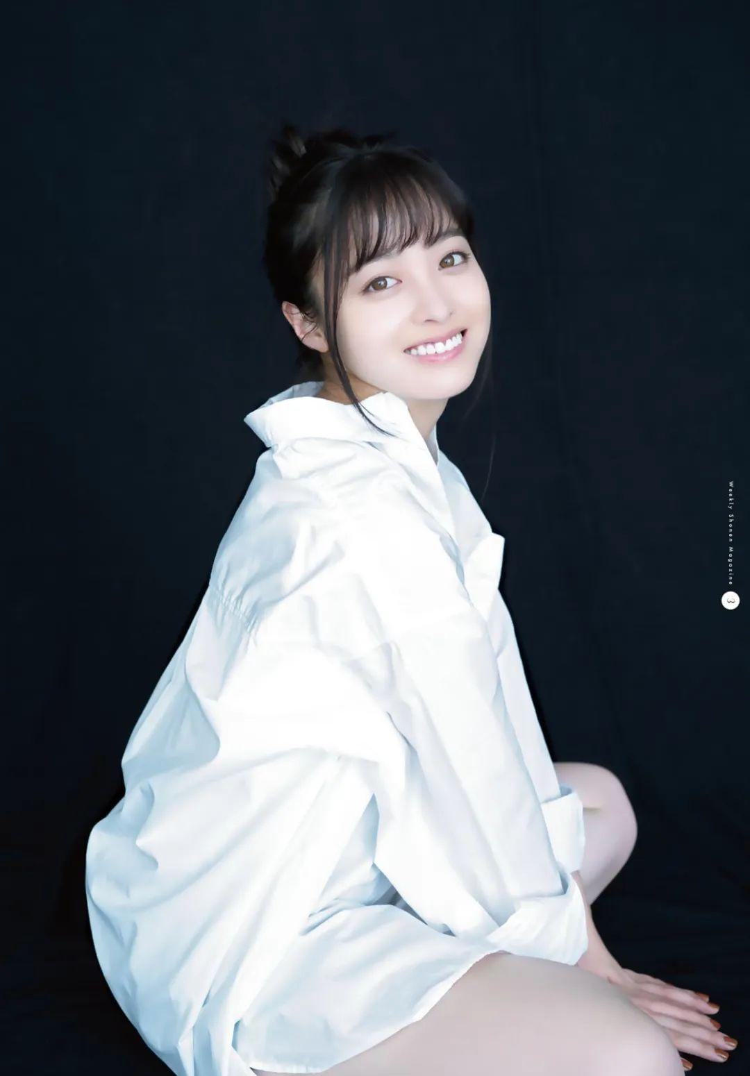 桥本环奈《周刊少年Jump》,气质美少女!_图片 No.4