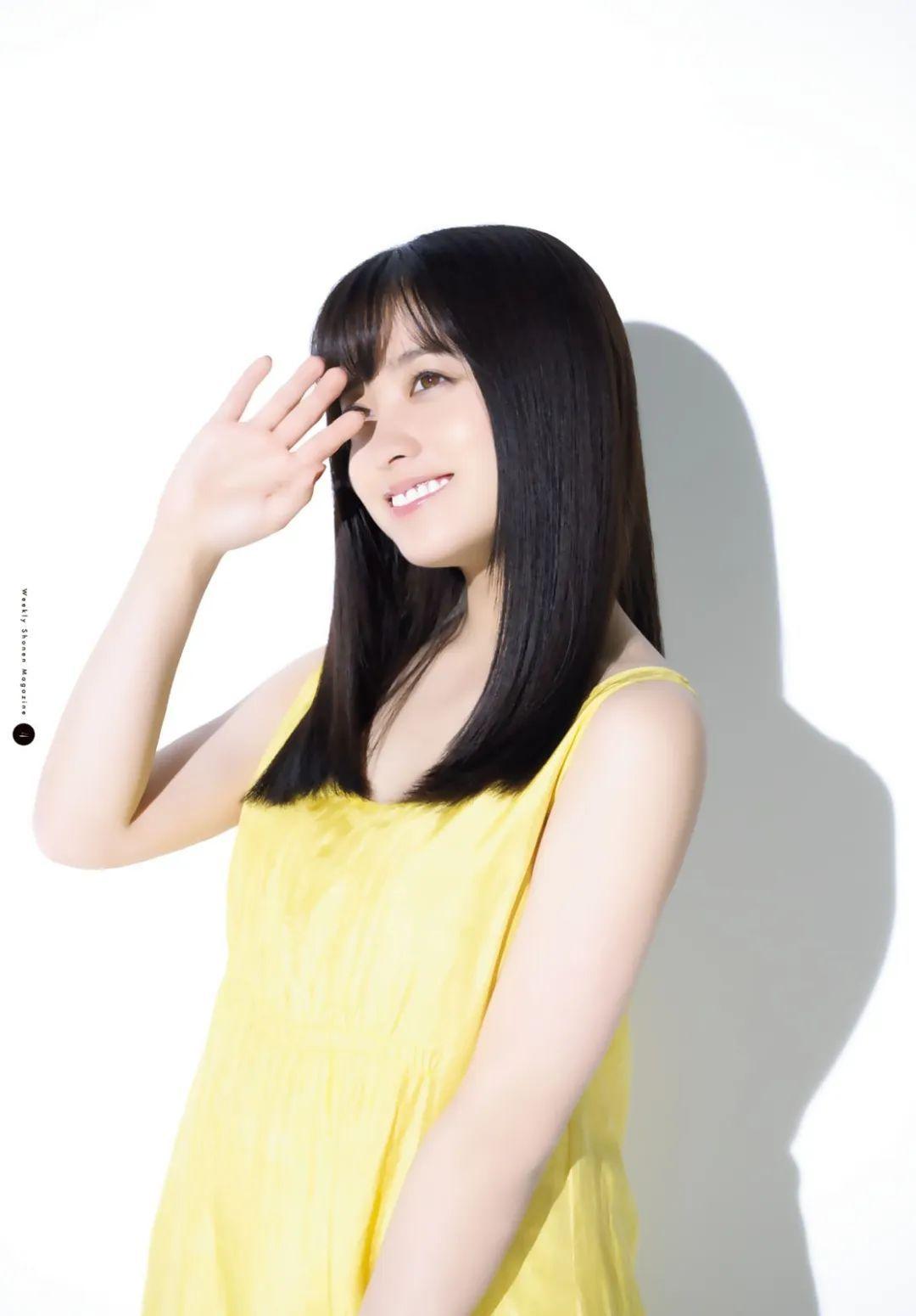 桥本环奈《周刊少年Jump》,气质美少女!_图片 No.5