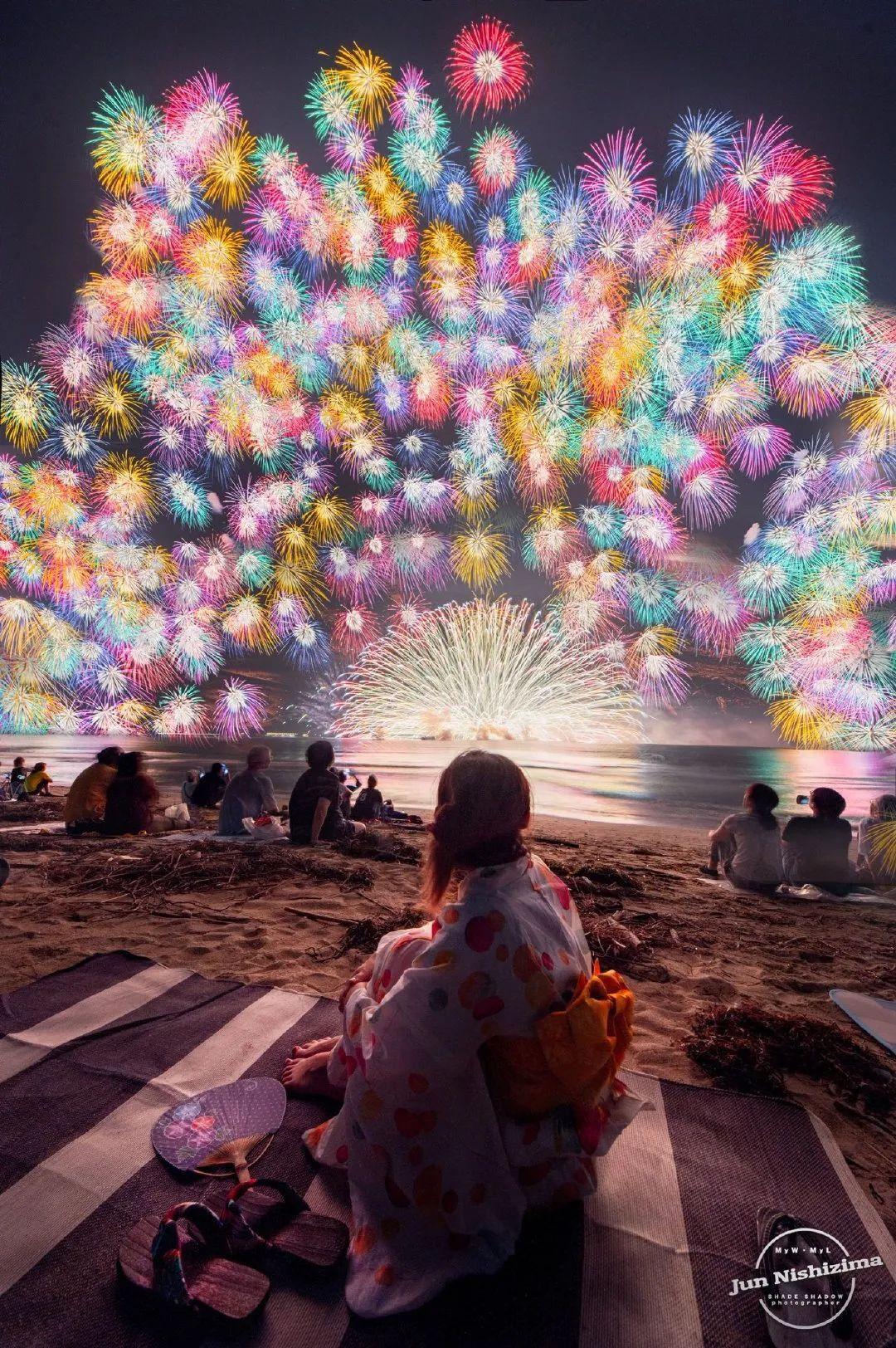2020日本三重县的花火大会,星光灿烂,令人惊奇!_图片 No.4