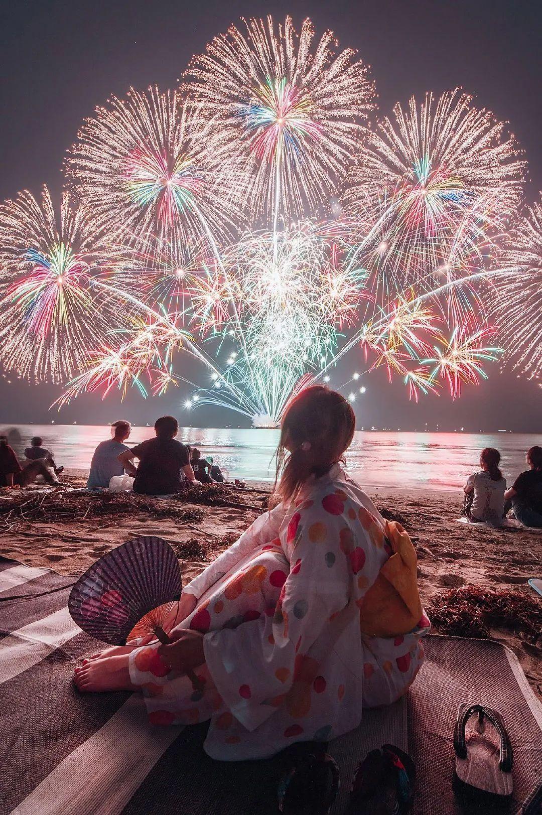 2020日本三重县的花火大会,星光灿烂,令人惊奇!_图片 No.5